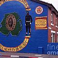 Freedom Corner Mural Belfast Northern Ireland by Thomas R Fletcher
