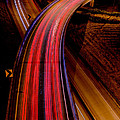 Freeway Lights 1 by Mike Penney