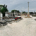 French Cemetery  by Dave Mills
