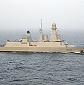 French Destroyer Fs Forbin by Stocktrek Images