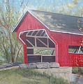 French Lick Covered Bridge by Julie Cranfill