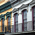 French Quarter Balconies by Kathleen K Parker
