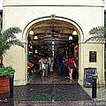 French Quarter French Market Entrance New Orleans Poster Edges Digital Art by Shawn O'Brien