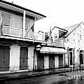 French Quarter Tavern Architecture New Orleans Conte Crayon Digital Art by Shawn O'Brien