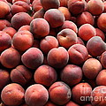 Fresh Peaches - 5d17816 by Wingsdomain Art and Photography