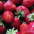Fresh Strawberries by Ausra Huntington nee Paulauskaite