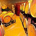 Fresh Tracks Barrel Room by Paul Mangold