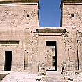 Front Of Philae Wall by Darcy Michaelchuk