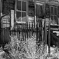Front Porch Bodie Ghost Town California by Pete Paul