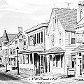 Front St.  Milford De by Fred Kirchhoff