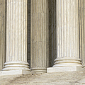 Front Steps And Columns Of The Supreme Court by Roberto Westbrook
