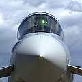 Front View Of A Eurofighter Typhoon by Ramon Van Opdorp