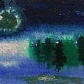 Frosty Moon by Mary Carol Williams