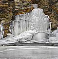 Frozen Falls by Dave Mills