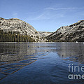 Frozen Tenaya Lake by Jim And Emily Bush