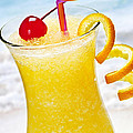 Frozen Tropical Orange Drink by Elena Elisseeva