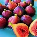 Fruit - Jersey Figs - Harvest by Susan Carella