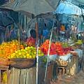Fruit Market by Usha Shantharam
