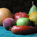 Fruit On The Porch by Daniel Gasteiger