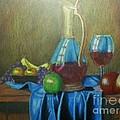 Fruity Still Life by Mickael Bruce