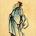 Fukurokuju God Of Wisdom 1840 by Padre Art