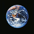 Full Earth From Space by Stocktrek Images