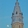 Full Moon And Billy Penn by Alice Gipson