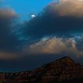 Full Moon Over Sedona by Andreas Hohl