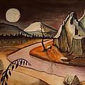 Full Moon Valley by Bob Arata