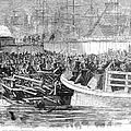 Fulton Ferry Boat, 1868 by Granger