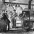 Fulton Fish Market, 1870 by Granger