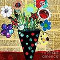 Funky Flowers by Melinda Etzold
