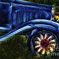 Funky Old Car by Susan Candelario