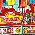Funnel Cakes Carnival Food Vendor by Eye Shutter To Think Prints