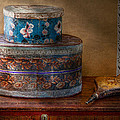 Furniture - Hat Boxes With Billow by Mike Savad