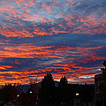 G Street Sunrise In Grants Pass by Mick Anderson