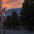 G Street Sunrise In Our Town by Mick Anderson