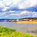 Gabarus Cape Breton Nova Scotia Fishing Village by Shawna Mac