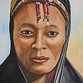 Gabbra Woman In Black  by Emmanuel Turner