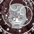 Galactic Face by Gia Simone