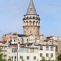 Galata Tower In Istanbul by Artur Bogacki