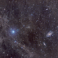 Galaxies M81 And M82 As Seen by John Davis