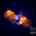 Galaxy Collision by Nasa