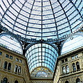 Galeria Umberto's Dome by Carla Parris