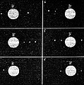 Galileo's Jovian Moon Observations, 1610 by