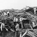 Galveston Disaster - C 1900 by International  Images
