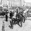 Galway Ireland - The Market At Eyre Square - C 1901 by International  Images