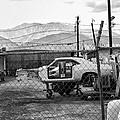 Garage Days Bw by William Dey