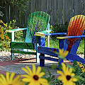 Garden Chairs by First Star Art