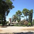 Garden Courtyard At Alhambra Granada Spain by John Shiron